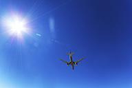 Canada, aircraft, blue sky and sunshine - SMAF000534