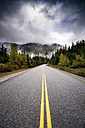 Canada, Highway, Road and dark clouds - SMAF000537