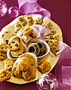 Selection of various Christmas Cookies - PPXF000007