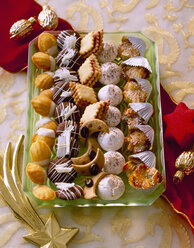 Selection of various Christmas Cookies - PPXF000010