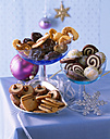 Selection of various Christmas Cookies - PPXF000013