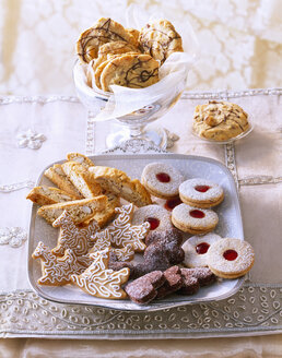 Selection of various Christmas Cookies - PPXF000016