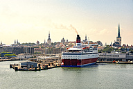 Estonia, Tallinn, Old town and harbour, ferry port - CSTF001200