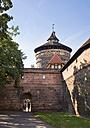 Germany, Nuremberg, view to Spittlertor and Spittlertorzwinger - SIE007091