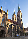 Germany, Nuremberg, view to St. Sebaldus Church - SIEF007097
