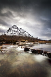 Scotland, Highlands, Buachaille Etive Mor Mountain - SMAF000575