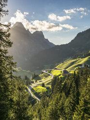 Austria, Vorarlberg, Hochtannberg Mountain Pass - STSF001074