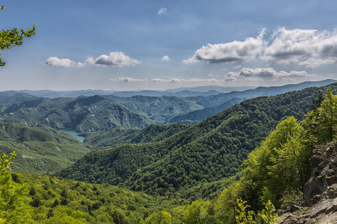 Italy, Emilia-Romagna, Foreste Casentinesi National Park, Lake Ridracoli - LOMF000380