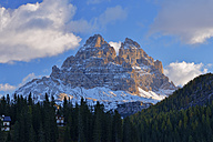Italy, Dolomites, Tre Cime di Lavaredo at morning light - RUEF001751