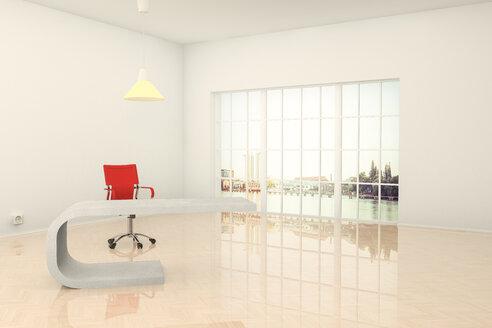 Modern office in Berlin, 3D Rendering - CMF000558