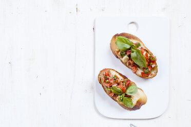 Fresh bruschetta with ingredients - SBDF03061