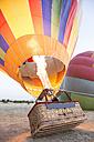 Hot air ballon is being prepared - ABZF01214