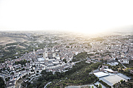 Spain, Segovia, aerial view of the city - ABZF01217