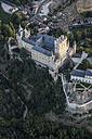 Spain, Segovia, aerial view of the Alcazar - ABZ01220