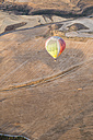 Spain, Segovia, hot air balloon in the air - ABZF01223