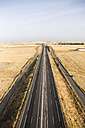 Spain, Segovia, aerial view of a highway - ABZF01235