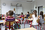 Woman teaching at class - SARF02880
