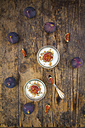 Greek yogurt with granola and figs - LVF05311