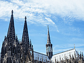Germany, Cologne, view to Cologne Cathedral - KRPF01837