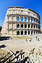 Italy, Rome, Colosseum and tourists - THA01749