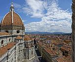 Italy, Tuscany, Florence, View of Basilica di Santa Maria del Fiore - LBF01481