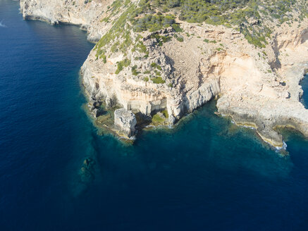 Spain, Mallorca, Palma de Mallorca, Aerial view, Cala Rafeubetx - AMF04988