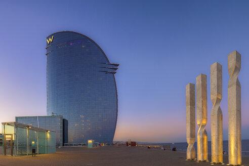 Spain, Barcelona, Hotel W - YR00126