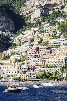 Italy, Campania, Province of Salerno, Amalfi coast, Amalfi, boats - THAF01777