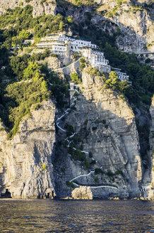 Italy, Campania, Province of Salerno, Amalfi coast, coastal area between Positano and Amalfi - THA01783