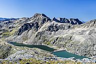 Austria, Carinthia, Hohe Tauern, Weissseekopf with Weisssee and Hochwurtenspeicher - STSF01093