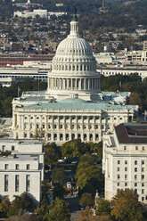 USA, Washington, D.C., Aerial photograph of  the United States Capitol - BCDF00102