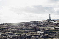Denmark, Skagen, lighthouse at the beach - MJF02001