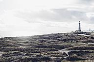 Denmark, Skagen, lighthouse at the beach - MJF02001