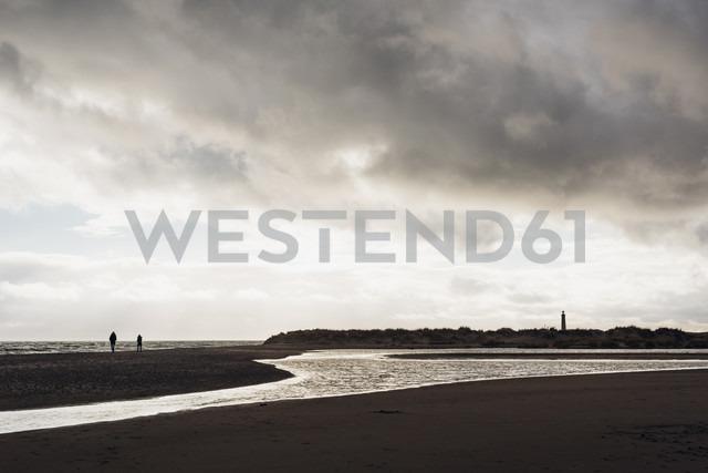 Denmark, Skagen, lighthouse at the beach - MJF02010