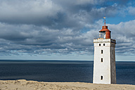 Denmark, North Jutland, lighthouse Rubjerg Knude - MJF02037