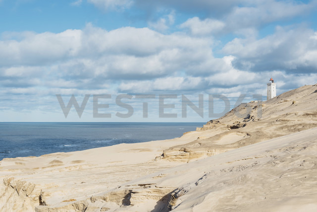 Denmark, North Jutland, lighthouse Rubjerg Knude - MJF02040