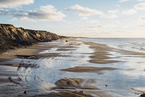 Denmark, North Jutland, steepcoast at lighthouse Rubjerg Knude - MJF02052