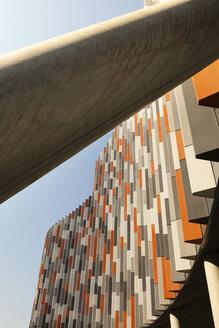 Czechia, Prague, facade of moderne office building - FC01080