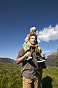 Family on a hiking trip - FSF00558