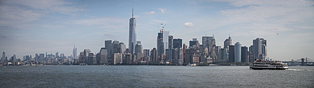USA, New York City, skyline - STC00279