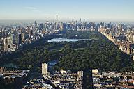 USA, New York City, view to Central Park, toward midtown Manhattan - BCDF00155