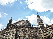 Germany, Dresden, view to Dresden Cathedral - KRPF01854