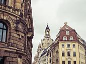 Germany, Saxony, Dresden, Cupola of Dresden Frauenkirche - KRPF01863