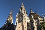 Germany, Ulm, view to Ulm Minster from below - PCF00281