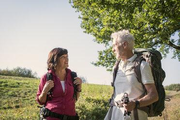 Senior couple hiking - ONF01023