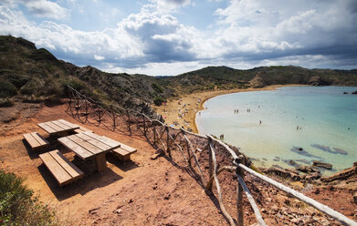 Spain, Balearic Islands, Caballeria beach - RAEF01508