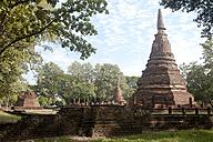 Thailand, Kamphaeng Phet, Ruins of Chakangrao, UNESCO World Heritage - ZCF00415