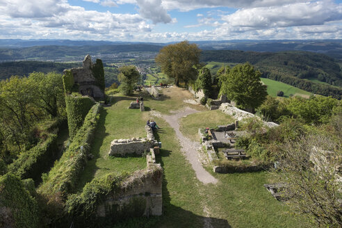 Germany, Kuessaburg Castle ruin - ELF01826