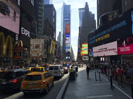 Traffic at Times Square in New York, USA - STCF00285