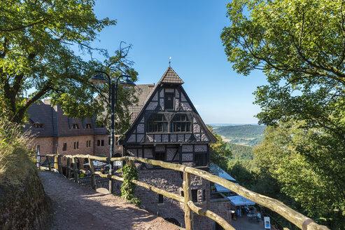 Germany, Thuringia, Eisenach, Wartburg romantic hotel - FR00466
